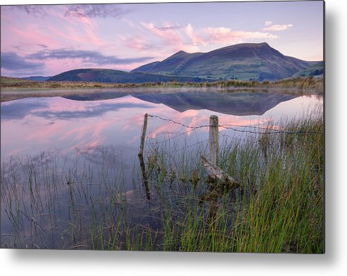 Horizontal Metal Print featuring the photograph Skiddaw by Phil Buckle