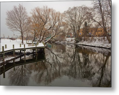 Nature Metal Print featuring the photograph Snowy River by Jon Stacey