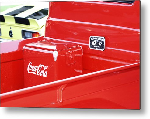 Cola Metal Print featuring the photograph Soda Pop Truck by Elizabeth Alamillo