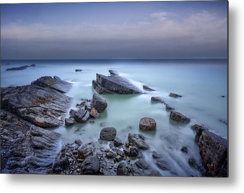 Canvas Metal Print featuring the photograph Speke's Mill Mouth by Mark Leader