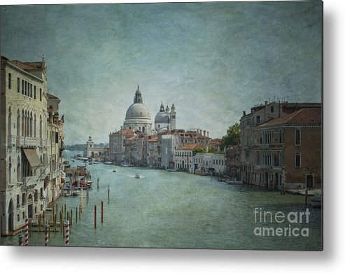 Venice Metal Print featuring the photograph St Maria Della Salute by Marion Galt