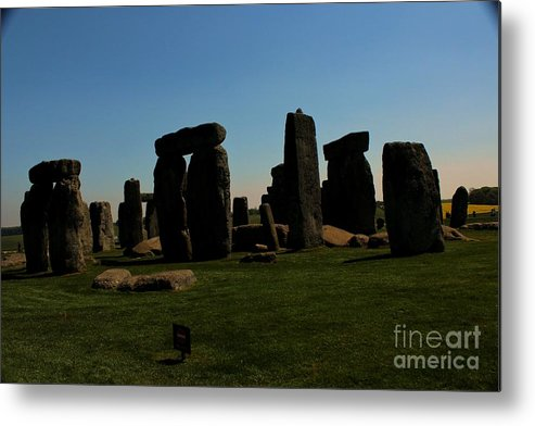 Stonehenge Metal Print featuring the photograph Stonehenge England by Rene Triay Photography