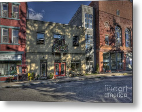 Store Fronts Metal Print featuring the photograph Store Fronts Thomas Wv by Dan Friend