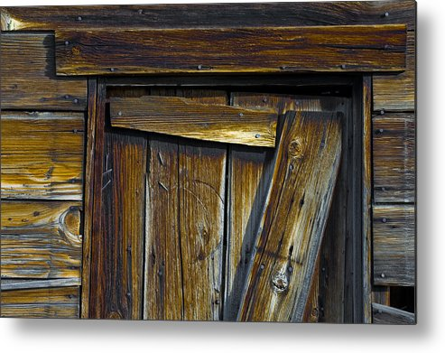 Still Life Metal Print featuring the photograph Structure.9370 by Gary LaComa