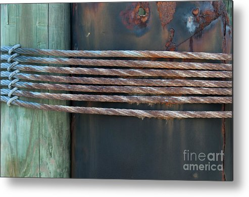 Photo Metal Print featuring the photograph Stuff Guys Love by Anne Kitzman