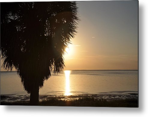 Sunset Is Just Around The Corner Metal Print featuring the photograph Sunset Is Just Around The Corner by Bill Cannon