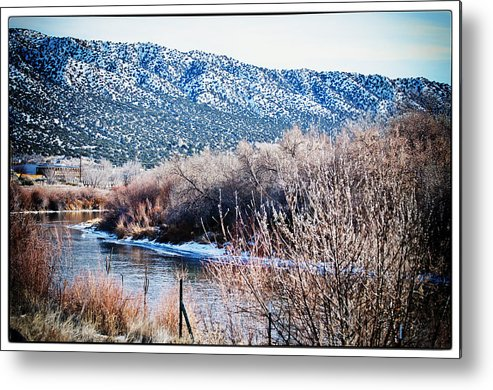 Landscape Metal Print featuring the photograph Taos Creek by Lisa Spencer