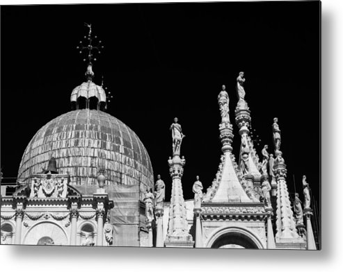 Cathedral Metal Print featuring the photograph The Art Of Venice by Justin and Ambyr Henderson