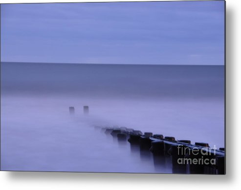Morning Metal Print featuring the photograph The Jetty by Tamera James