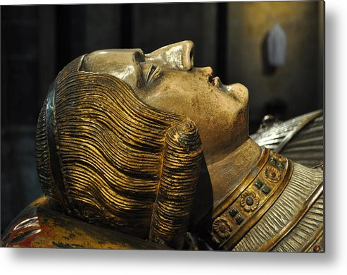 Tomb Metal Print featuring the photograph The Royal Tomb Of Count Gerard Van Gelder Iv by Mary Machare