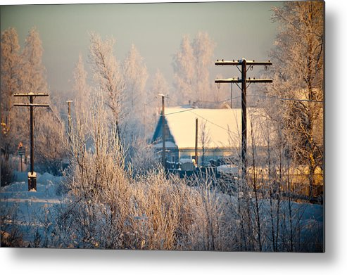 Winter Metal Print featuring the photograph The Winter Country by Nikolay Krusser