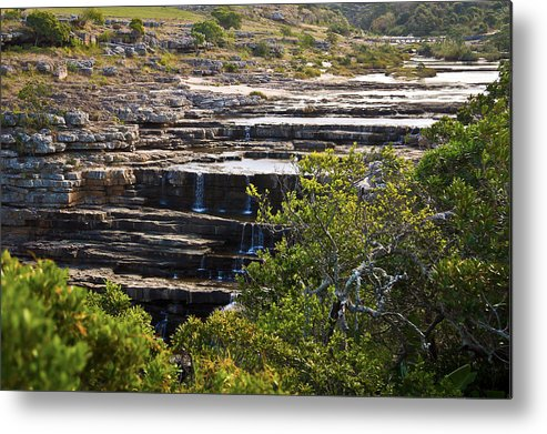 Waterscape Metal Print featuring the photograph Transkei Terrace by Miguel Capelo