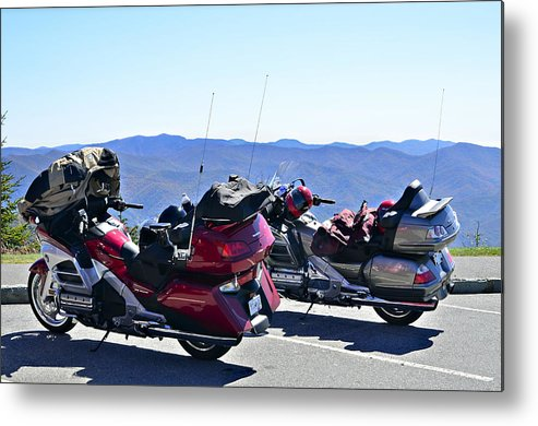 Travel Metal Print featuring the photograph Traveling In Style by Susan Leggett