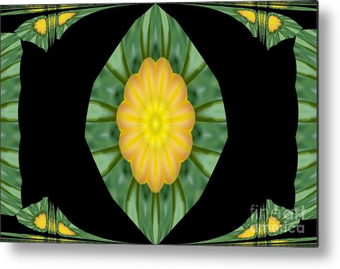 Digital Design Metal Print featuring the photograph Tulips 2 by Mark Gilman