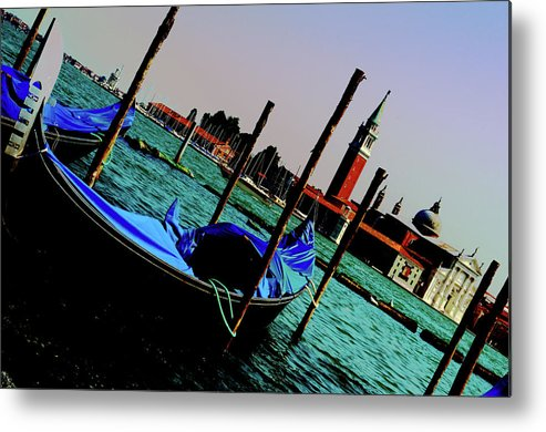 Italy Metal Print featuring the photograph Venice In Color by La Dolce Vita