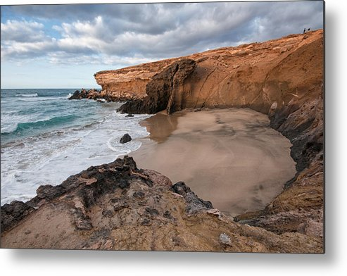Horizontal Metal Print featuring the photograph Viejo Rey Beach by Photography by Juances