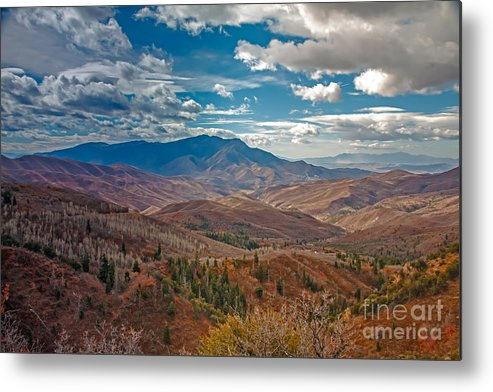 Mount Nebo Metal Print featuring the photograph Wasatch Range by Robert Bales