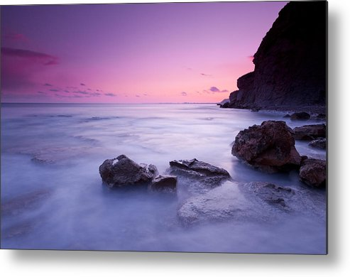 Horizontal Metal Print featuring the photograph Water Flowing by PepeMiralles