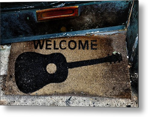 Welcome Metal Print featuring the photograph Welcome by Bill Cannon