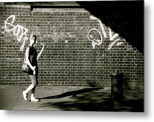 Jezcself Metal Print featuring the photograph What Will The Shadows Hide by Jez C Self