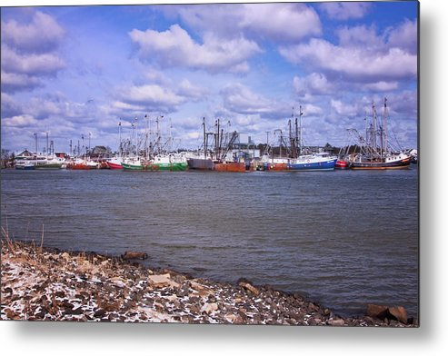 Cape May Harbor Metal Print featuring the photograph Winter Harbor by Tom Singleton