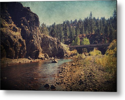 Carson River Metal Print featuring the photograph Words Left Unspoken by Laurie Search