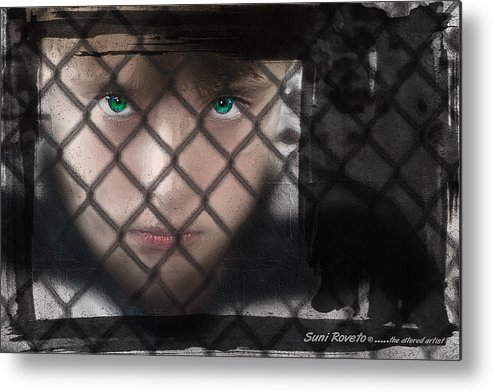 Moody Metal Print featuring the digital art You'll Be Sorry by Suni Roveto
