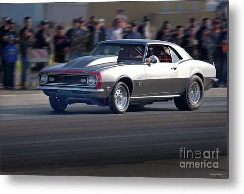 Automobile Metal Print featuring the photograph 1969 Camaro Ss396 by Dave Koontz