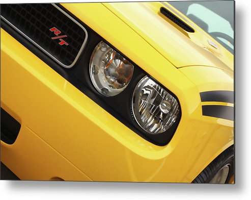 2011 Metal Print featuring the photograph 2011 Dodge Challenger Rt by Gordon Dean II