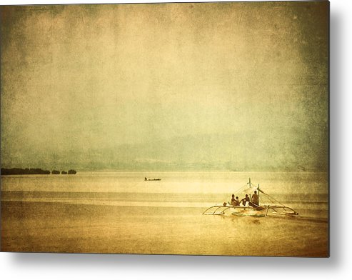 Philippines Metal Print featuring the photograph Calville Bay by Ross Throndson