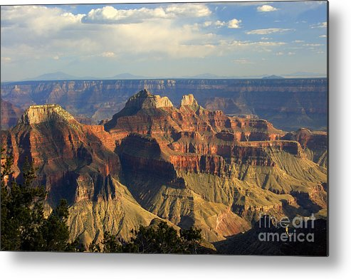 Sunset Metal Print featuring the photograph Canyon Sunset by Neil Doren