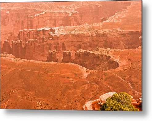 Landscape Metal Print featuring the photograph Canyonland N.p. by Larry Gohl
