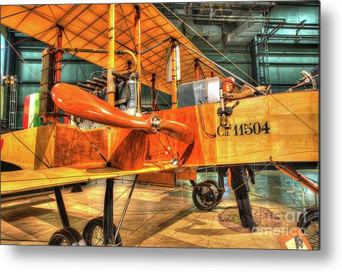 Nose Metal Print featuring the photograph Caproni, Ca. 36 Bomber by Greg Hager