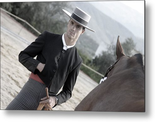 Photographer Metal Print featuring the photograph Carlos 2 by Jez C Self
