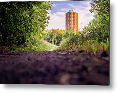 East Bank Trail Metal Print featuring the photograph East Bank Trail by Vincent Buckley