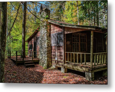 2016 Metal Print featuring the photograph Elkmont by Charlie Choc