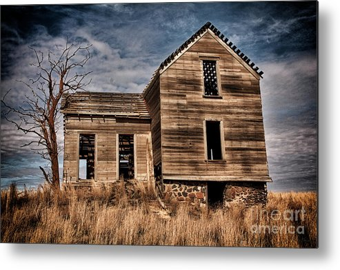 Old House Metal Print featuring the photograph Essence Of Time by Karen Goodwin
