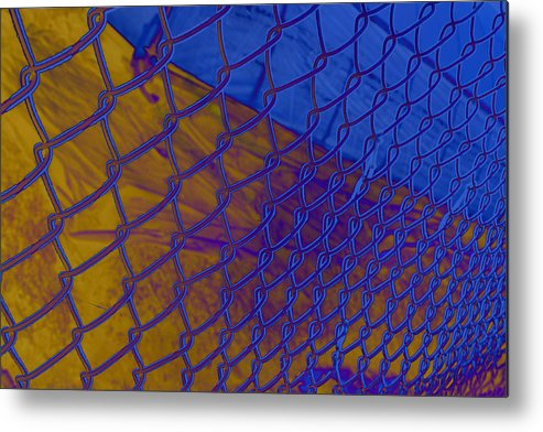 Link Metal Print featuring the photograph Frosted Links by Barbara White