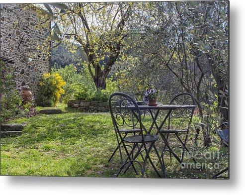 Gardening Metal Print featuring the photograph Garden In Spring by Patricia Hofmeester
