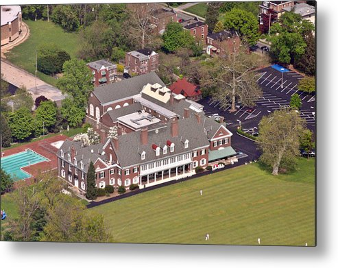 Germantown Metal Print featuring the photograph Germantown Cricket Club by Duncan Pearson