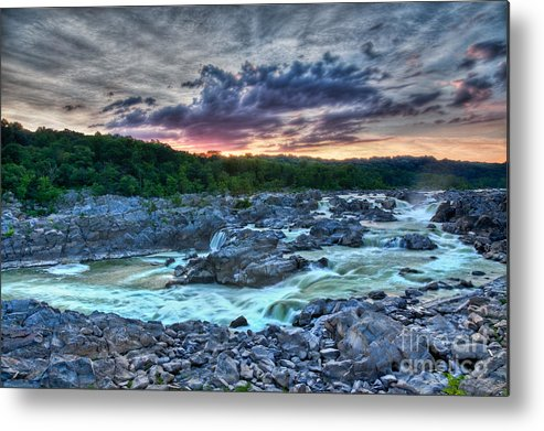 Great Falls Metal Print featuring the photograph Glorious IIib by Irene Abdou