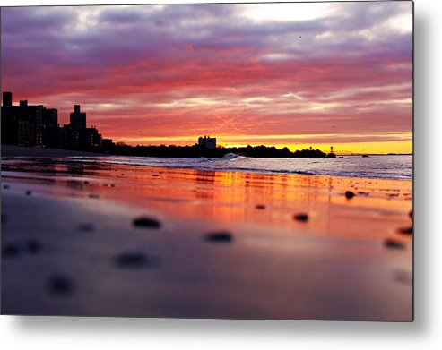 Sunrise Metal Print featuring the photograph Hallelujah by Mitch Cat