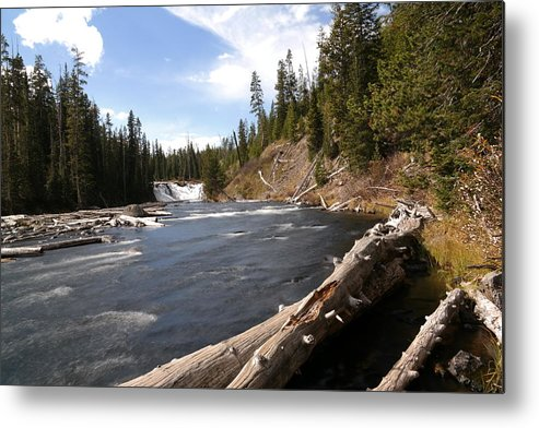 Waterfalls Metal Print featuring the photograph Lewis Falls by Jeff Swan
