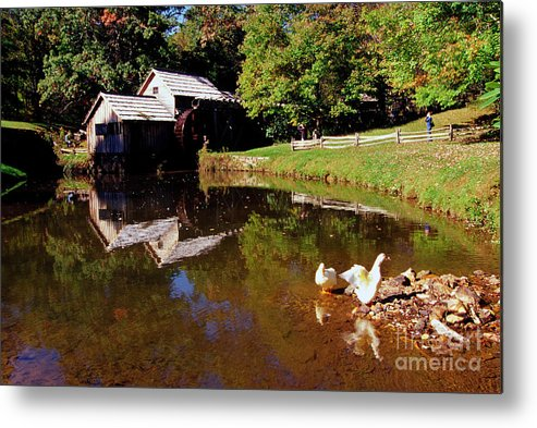 Mabry Mill Metal Print featuring the photograph Mabry Mill by Thomas R Fletcher