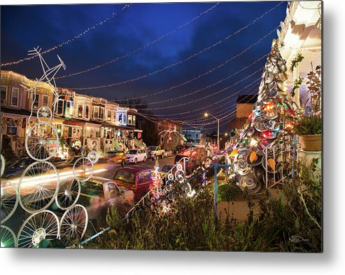 Baltimore Metal Print featuring the photograph Miracle On 34th Street by W M Dunn