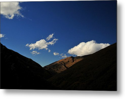 Mountain Metal Print featuring the photograph Mountain In The Good Light by Tom Nix