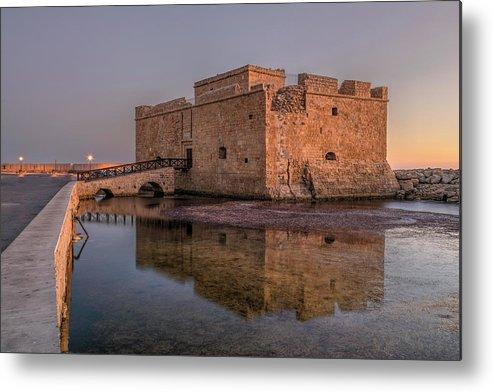 Paphos Castle Metal Print featuring the photograph Paphos - Cyprus by Joana Kruse