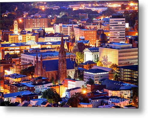 Paterson Metal Print featuring the photograph Paterson New Jersey by Denis Tangney Jr