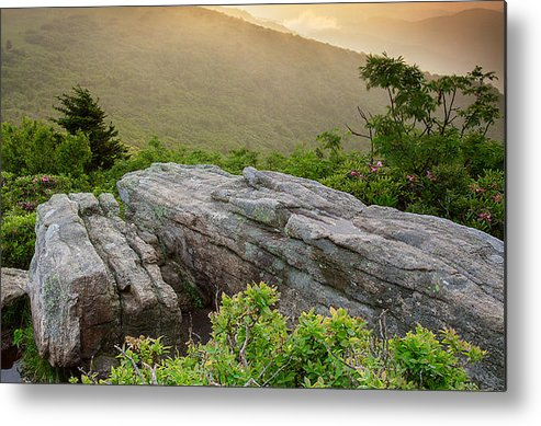 Roan Highlands Metal Print featuring the photograph Roan Highlands - Flames And Flares by Jason Penland