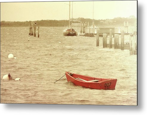 Nantucket Metal Print featuring the photograph Rough Seas by JAMART Photography